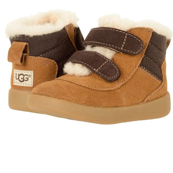 cb544d4c654 UGG Chestnut Pritchard Suede Chukka Baby Boots SM